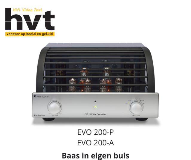 Review PrimaLuna EVO 200 HVT magazine